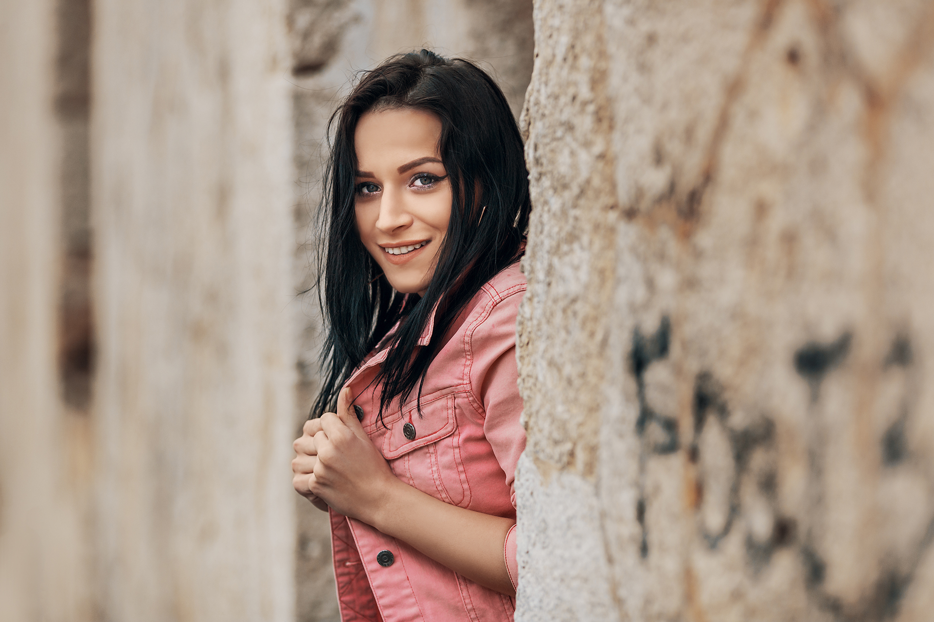Ahoj/Szia cover girl Evelyn - Kristian Marko photography