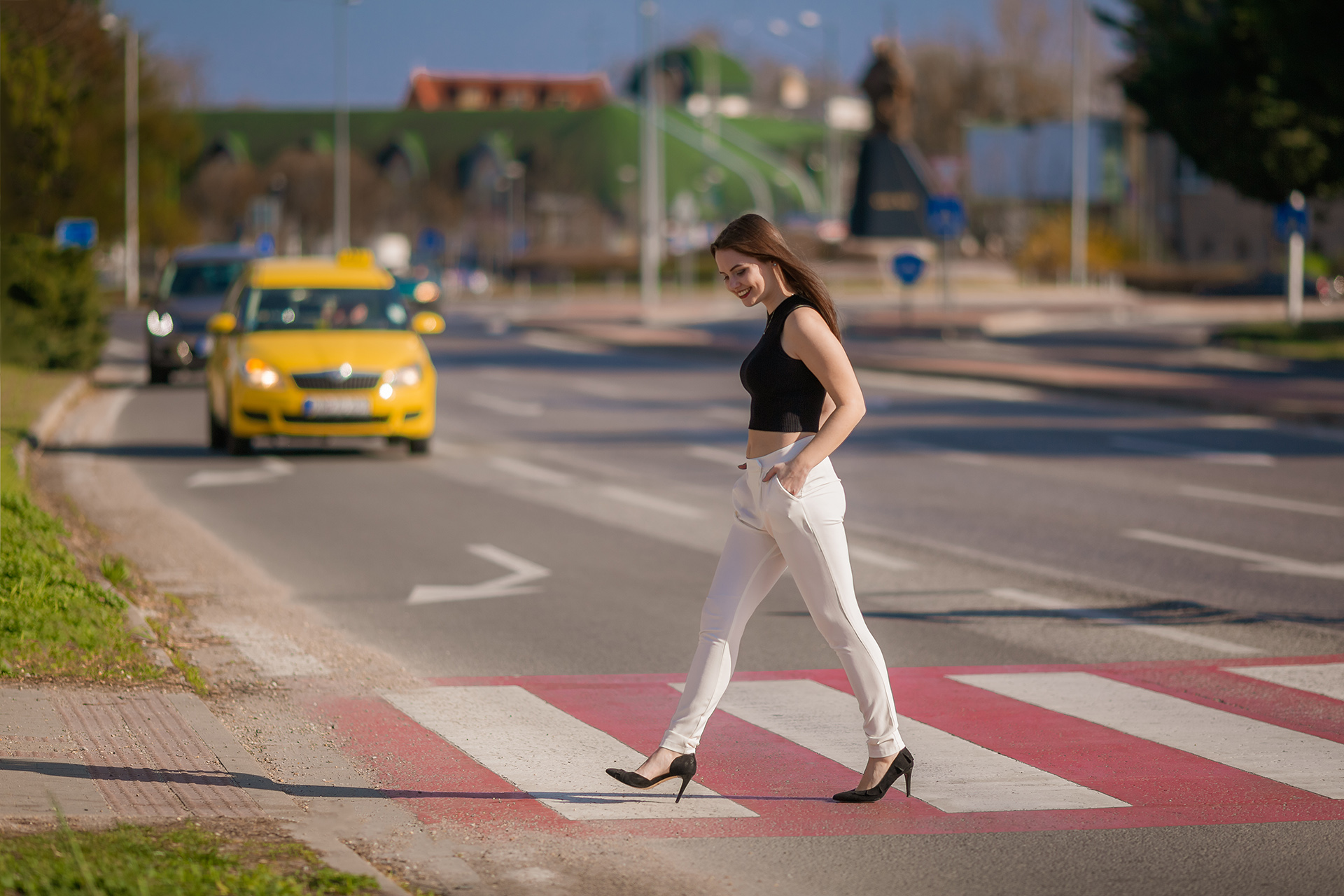 Ahoj/Szia cover girl Monika - Kristian Marko photography
